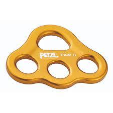 ビッグウォールクライミングやチロリアンブリッジの設置に便利なリギングプレート 驚きの値段 メーカー在庫限り品 ペツル PETZL G063AA00 ポーS イエロー