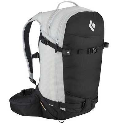 ドーンパトロール32 ホワイト・ブラックML Black Diamond(ブラックダイヤモンド) スノーパック スキー&ボード&アバラングエレメント装着可能なバックパック (P10) BD46210