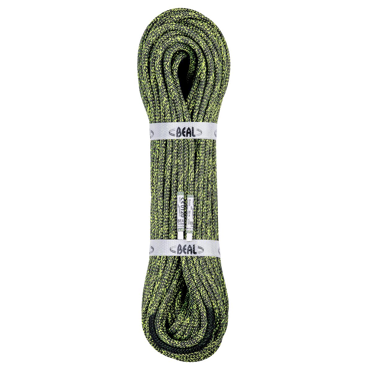 【ポイント3倍~5/10】ベアール補助ロープ 5mm バックアップライン 40m グリーン