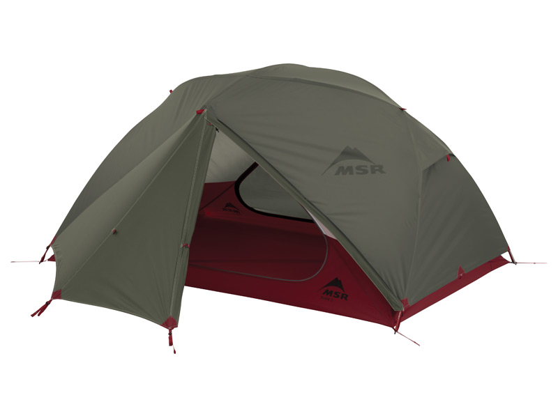 MSRテント(ELIXIR 2)エリクサー2(フットプリント付)グリーン 37032【登山 山岳 テント シェルター トレッキング キャンプ】