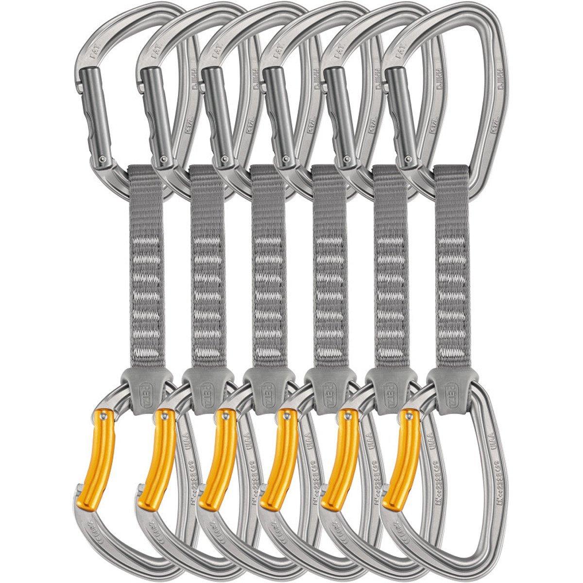 PETZLペツル クイックドロー M60AP12 ジン アクセス 12cm 6本パック カラビナ