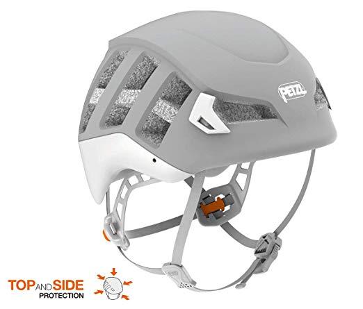 ペツル ヘルメット メテオ グレー S/M M/L オールラウンドに使用できる軽量ヘルメット