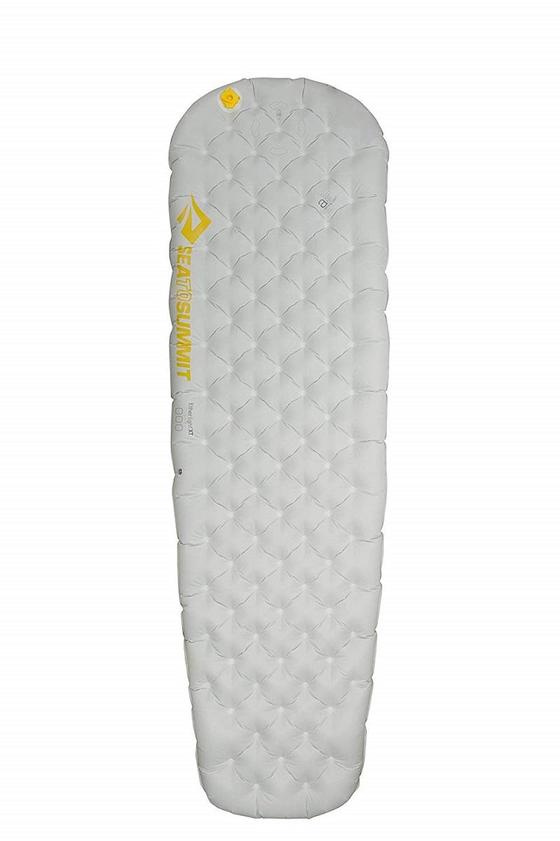 シートゥーサミット(SEA TO SUMMIT)イーサーライトXTマット ライトグレー レギュラー 183cm×55cm ST81146【エアストリームポンプサック付き】(P5) | マット エアマット エアーマット キャンプ アウトドア 登山(P5) キャンプマット キャンピングマット