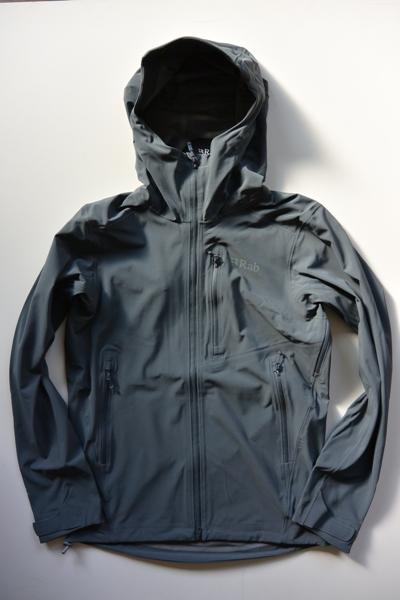 ラブ Rab Votive Jacket(Steel ST Granite)【送料無料】ソフトシェル 防風 透湿 アウトドアウエア ジャケット