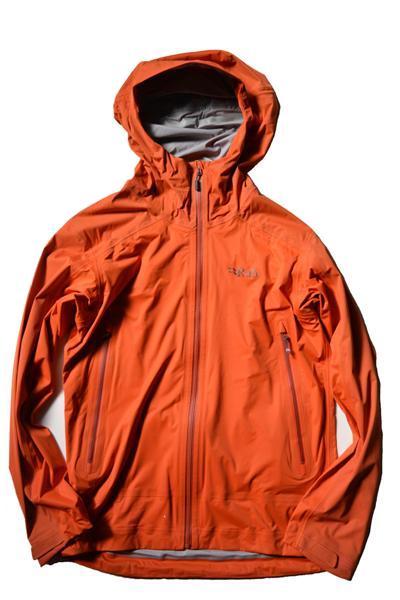 行動着として抜群の威力を発揮する防水ソフトシェル ラブ キネティック アルパイン ジャケットRab Kinetic Alpine Jacket