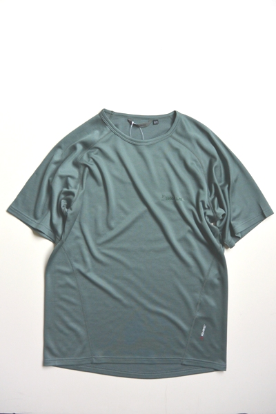 Teton Bros. Power Wool MW S/S Tee(Gray) ティートンブロス パワーウール ショートスリーブ【抗菌防臭】【ベースレイヤー】【パワーウール】【ポーラテック】