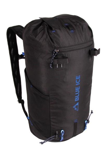 ブルーアイス ドラゴンフライ2 25L ブラック|blueice dragonfly2 25Lバックパック|クライミング|スクランブリング|ハイキング