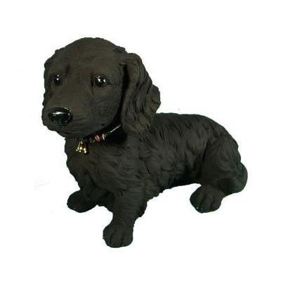 *代引き不可-消臭『備長炭』フィギュア「ミニチュアダックスA」 Miniature Dachshund-犬 dog ドッグ いぬ
