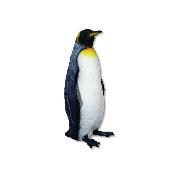 代引不可-アニマルビッグフィギュアシリーズ【キングペンギン】(等身大フィギュア)送料別途見積