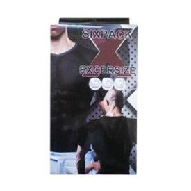 加圧シャツ 半袖 5枚組【SIXPACK EXCERSIZE】スーパーエクササイズ インナー シックスパック エクササイズ/男性用/補正/加圧/引締/姿勢/矯正/腹筋/インナー/筋トレ 送料無料 ポイント10倍