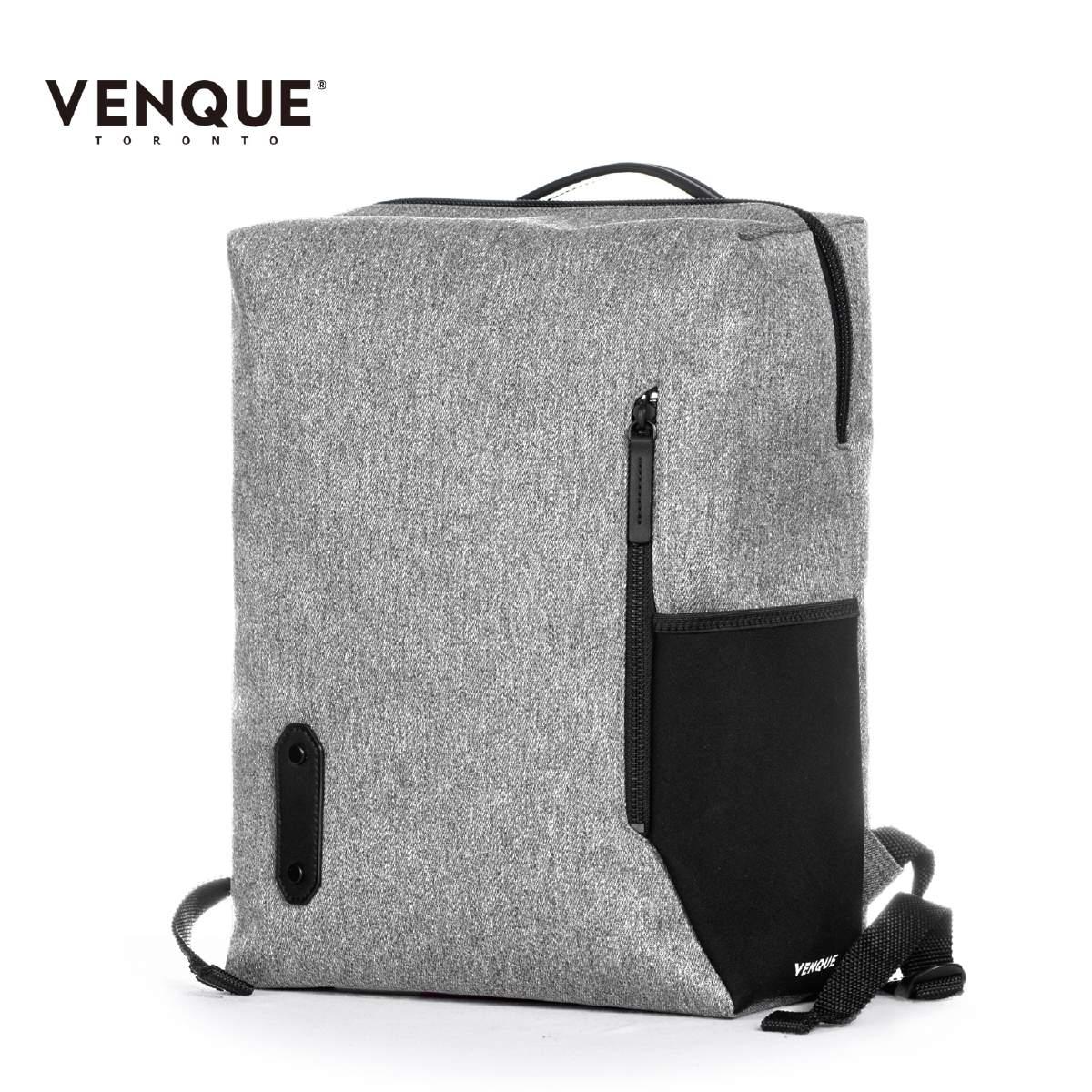 【店内全品ポイント5倍】VENQUE ヴェンク THE BOX バックパック メンズ/レディース グレー OS