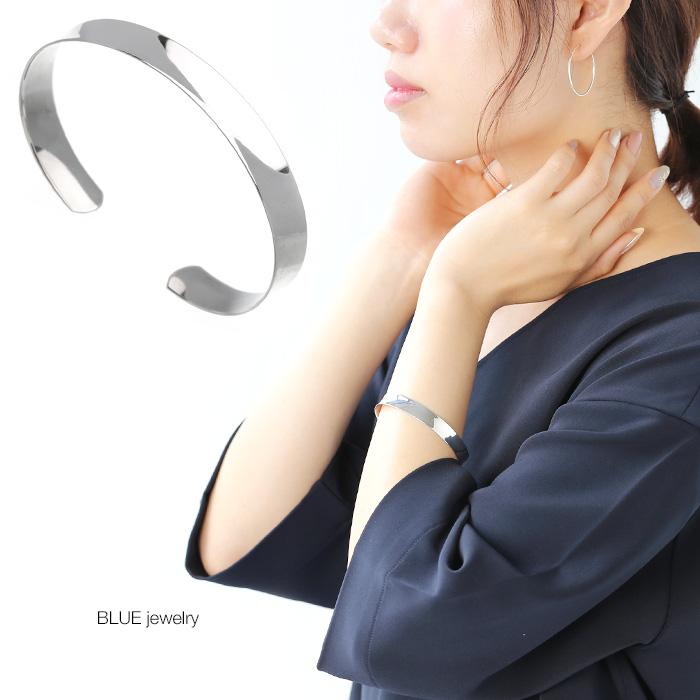 今だけ限定15%OFFクーポン発行中 シルバー925 silver925 sv925 BLUEjewelry ブルージュエリー ギフト プレゼント 10%OFF 更にクーポンで割引 4日20時~ バングル プレーン レディース シルバーブレスレット アクセサリー パーティー シンプル 定番 大人 女性 送料無料 豪華な 誕生日 彼女