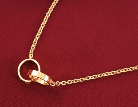 까르띠에 Cartier 목걸이 러브 컬렉션 옐로우 골드 B7212400