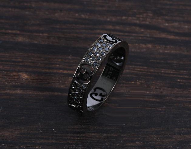 グッチ リング【指輪】 アクセサリー メンズ レディース ブラック 225836 J8540 8131 GUCCI
