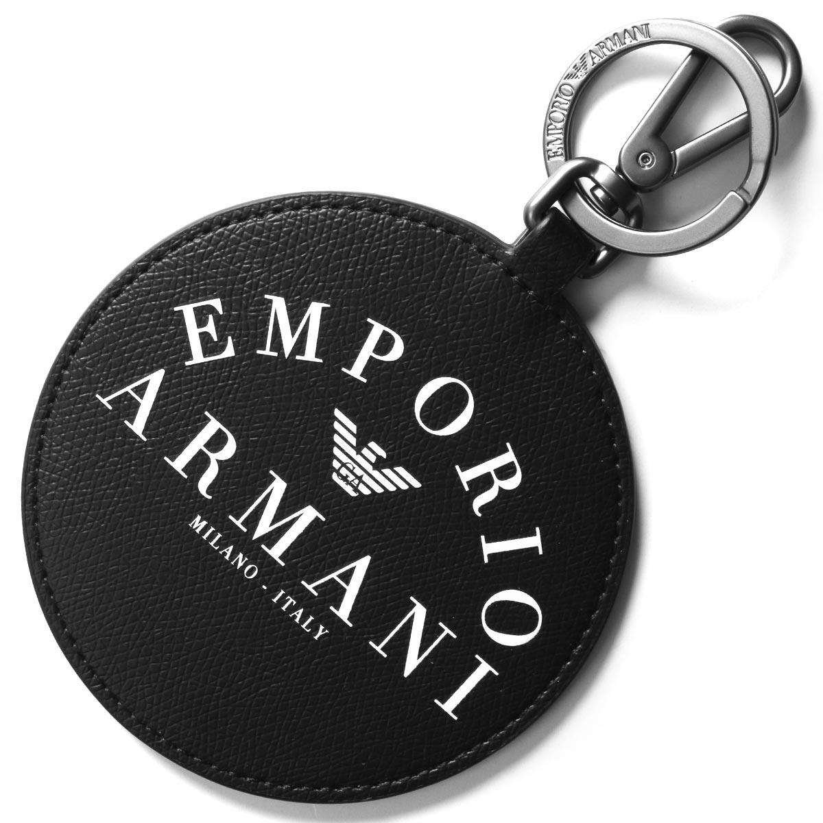 エンポリオアルマーニ キーリング/キーホルダー アクセサリー メンズ ブラック Y4R253 YFE5J 83896 EMPORIO ARMANI