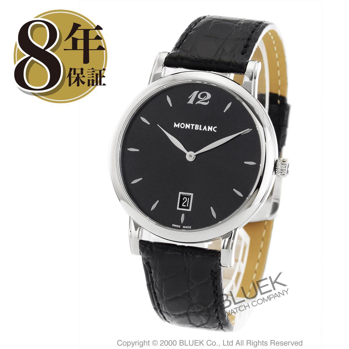 【最大3万円割引クーポン 11/01~】モンブラン スター クラシック アリゲーターレザー 腕時計 メンズ MONTBLANC 108769_8