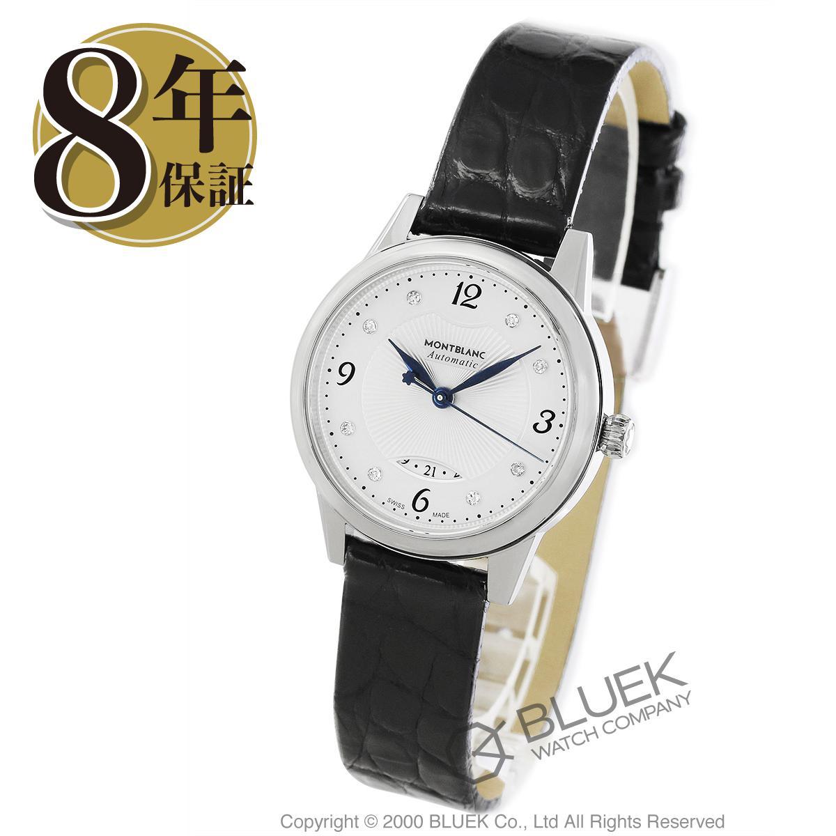 モンブラン ボエム デイト ダイヤ アリゲーターレザー 腕時計 レディース MONTBLANC 111055_8