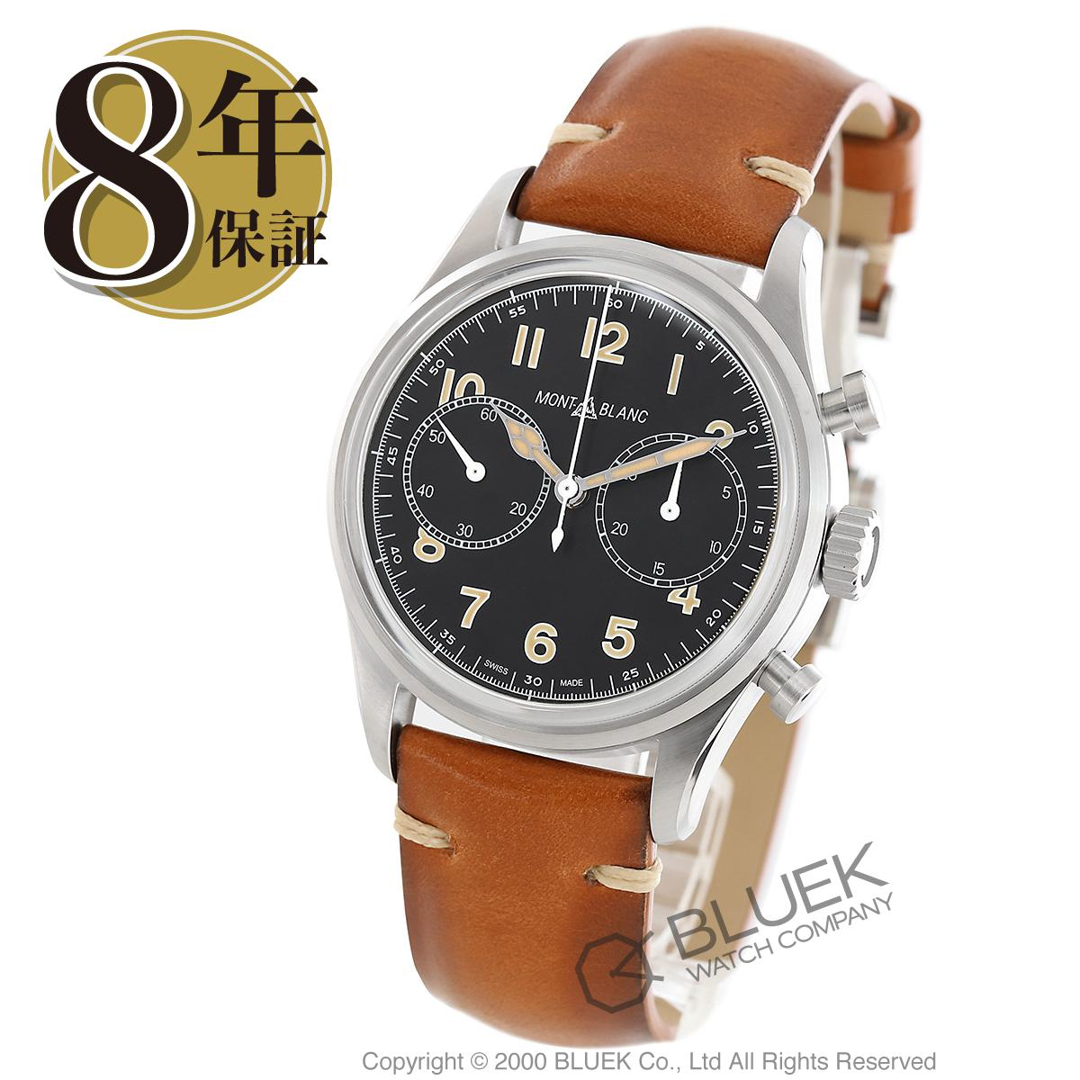 9ffe3cb94e 【6,000円OFFクーポン対象】モンブラン 1858 クロノグラフ 腕時計 メンズ MONTBLANC 117836_8