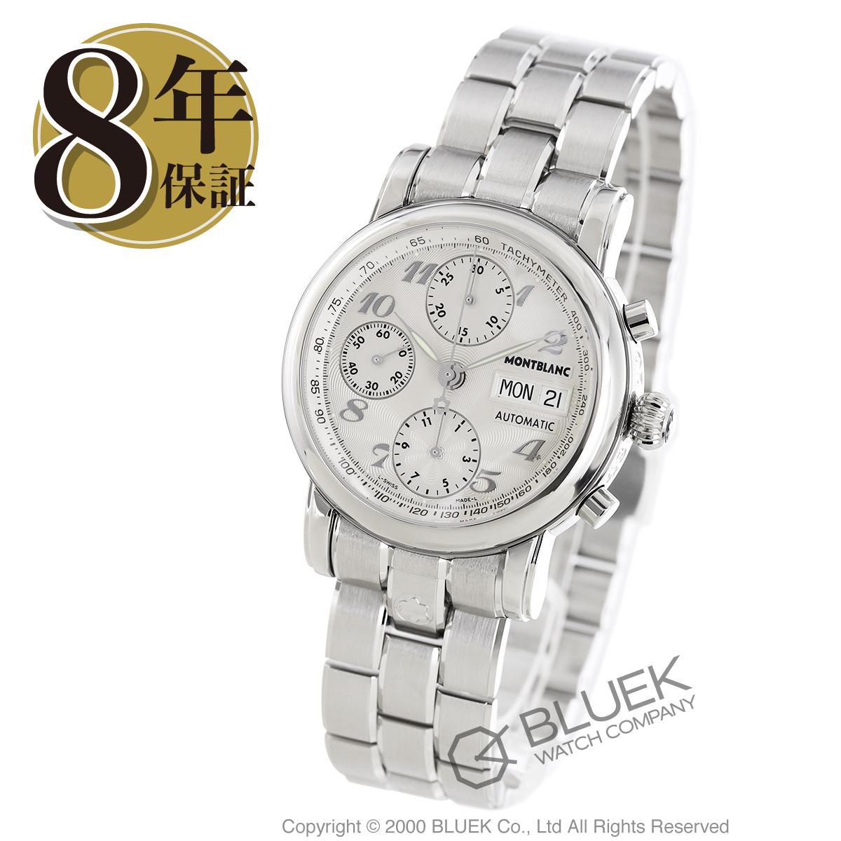 【最大3万円割引クーポン 11/01~】モンブラン スター クロノグラフ 腕時計 メンズ MONTBLANC 5222_8