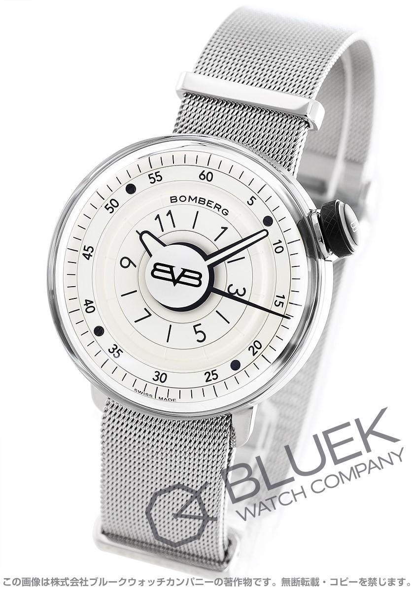 ボンバーグ BB-01 ホワイト&シルバー 腕時計 メンズ BOMBERG CT43H3SS.02-2.9