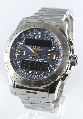 Blight ring Breitling professional air wolf men A783C11PRS watch clock