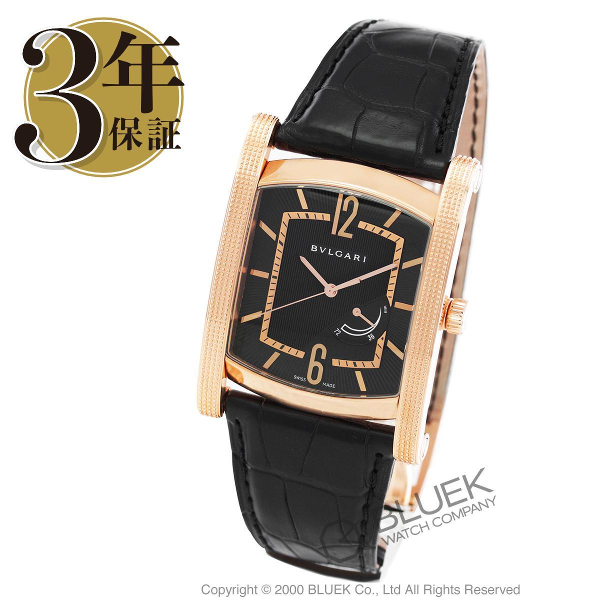 ブルガリ アショーマ パワーリザーブ PG金無垢 アリゲーターレザー 腕時計 メンズ BVLGARI AAP48BGL_3