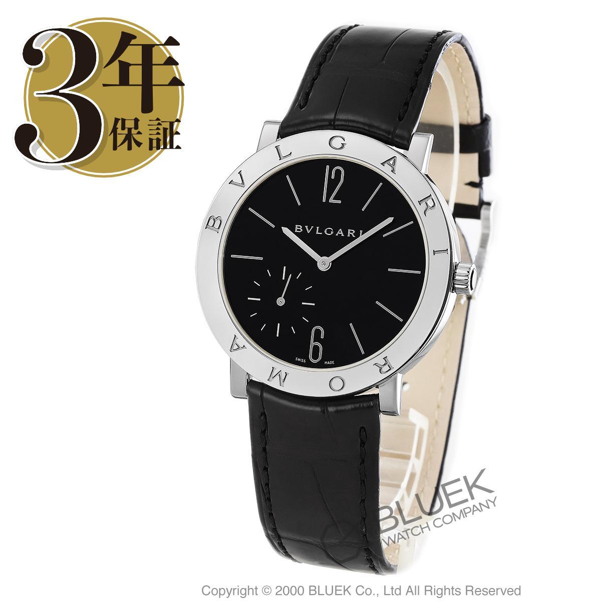 ブルガリ ブルガリローマ フィニッシモ パワーリザーブ アリゲーターレザー 腕時計 メンズ BVLGARI BB41BSLXT_3