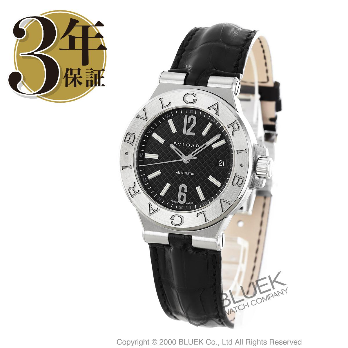 【6,000円OFFクーポン対象】ブルガリ ディアゴノ アリゲーターレザー 腕時計 メンズ BVLGARI DG40BSLD_8