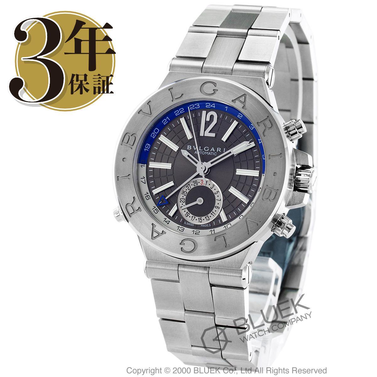 【最大3万円割引クーポン 11/01~】ブルガリ ディアゴノ GMT 腕時計 メンズ BVLGARI DG40C14SSDGMT_8