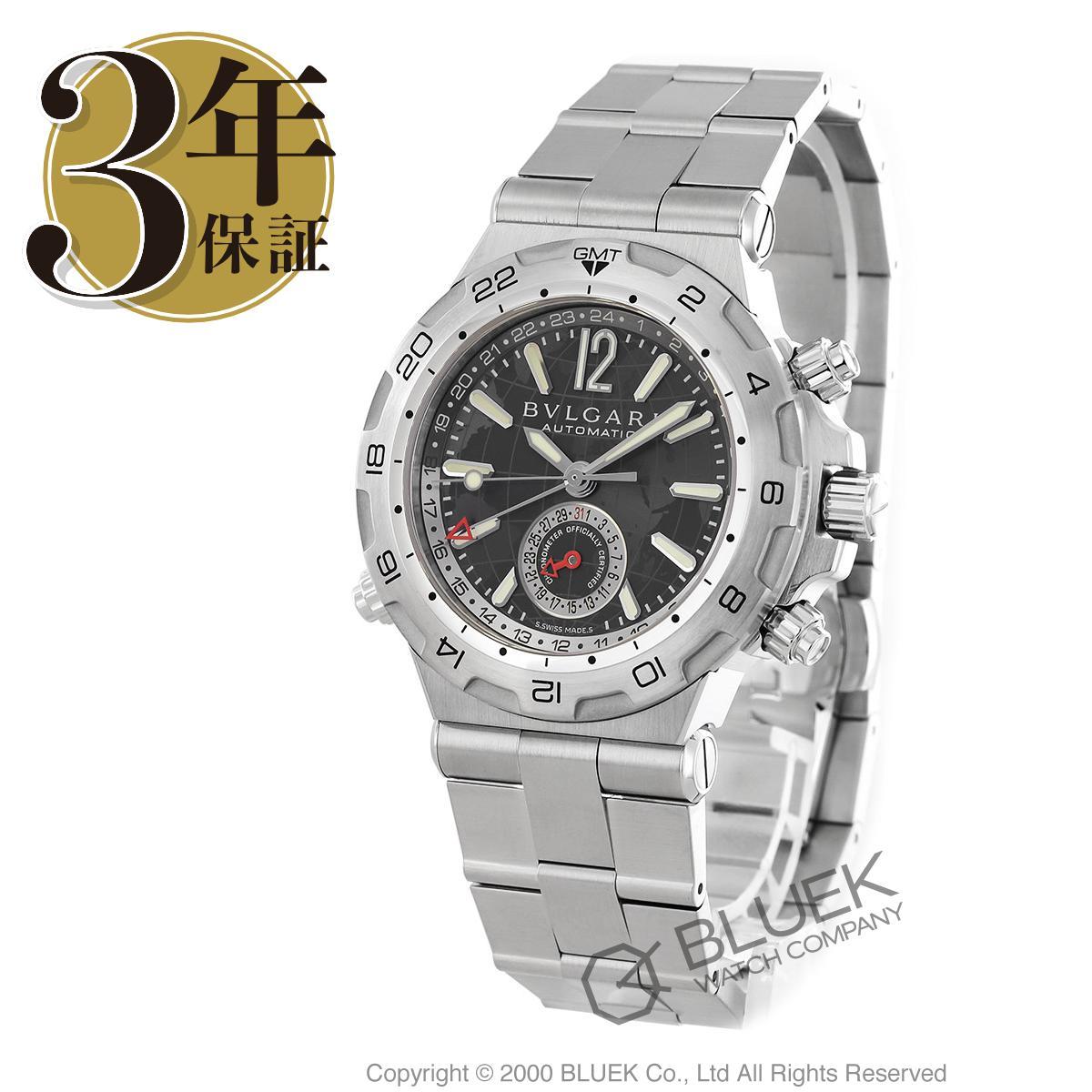3c73a38e90bd 【最大3万円割引クーポン 11/01~】ブルガリ ディアゴノ プロフェッショナル GMT 腕時計 メンズ BVLGARI  DP42C14SSDGMT_8, エクセル ブランドショッピング:207ab273 ...