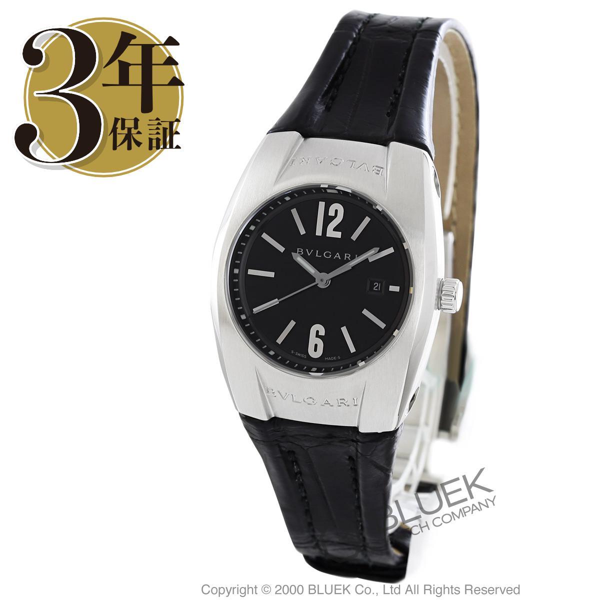 【3,000円OFFクーポン対象】ブルガリ エルゴン アリゲーターレザー 腕時計 レディース BVLGARI EG30BSLD_8