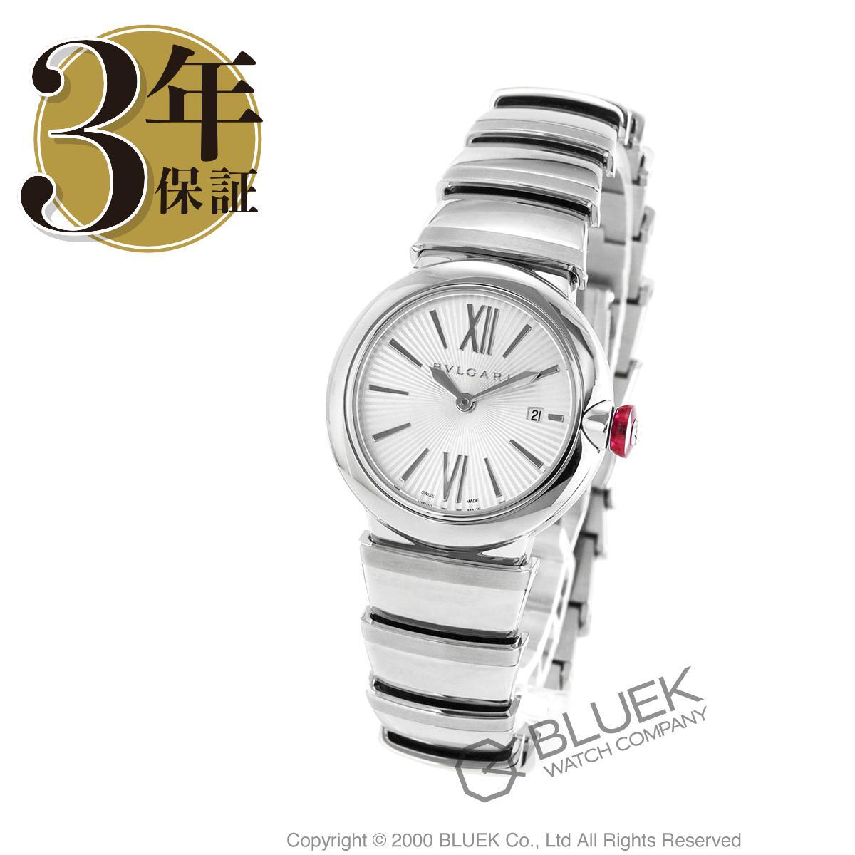 【6,000円OFFクーポン対象】ブルガリ ルチェア ダイヤ 腕時計 レディース BVLGARI LU28C6SSD_8