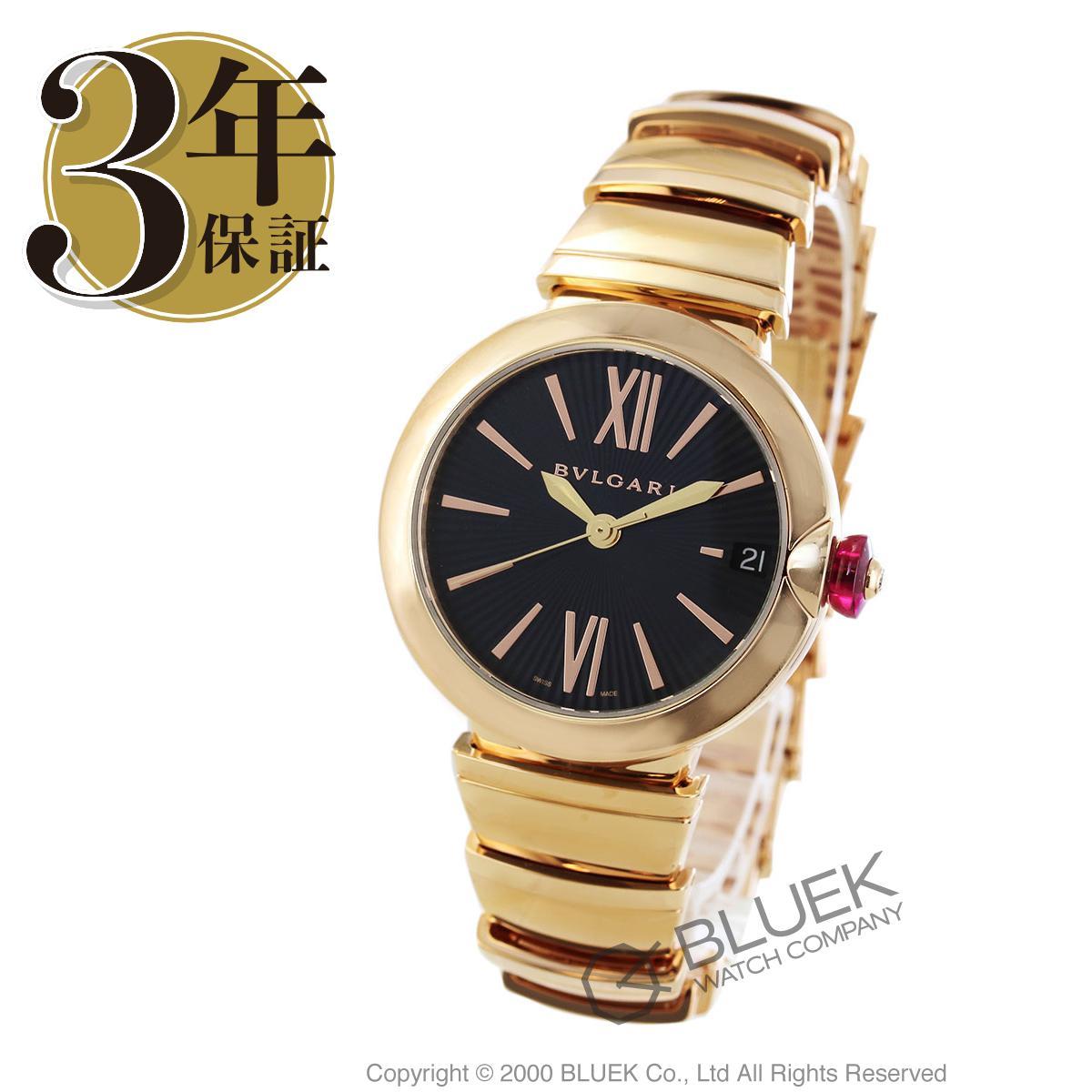 【3万円OFFクーポン対象】ブルガリ ルチェア ダイヤ PG金無垢 腕時計 レディース BVLGARI LUP33BGGD_8
