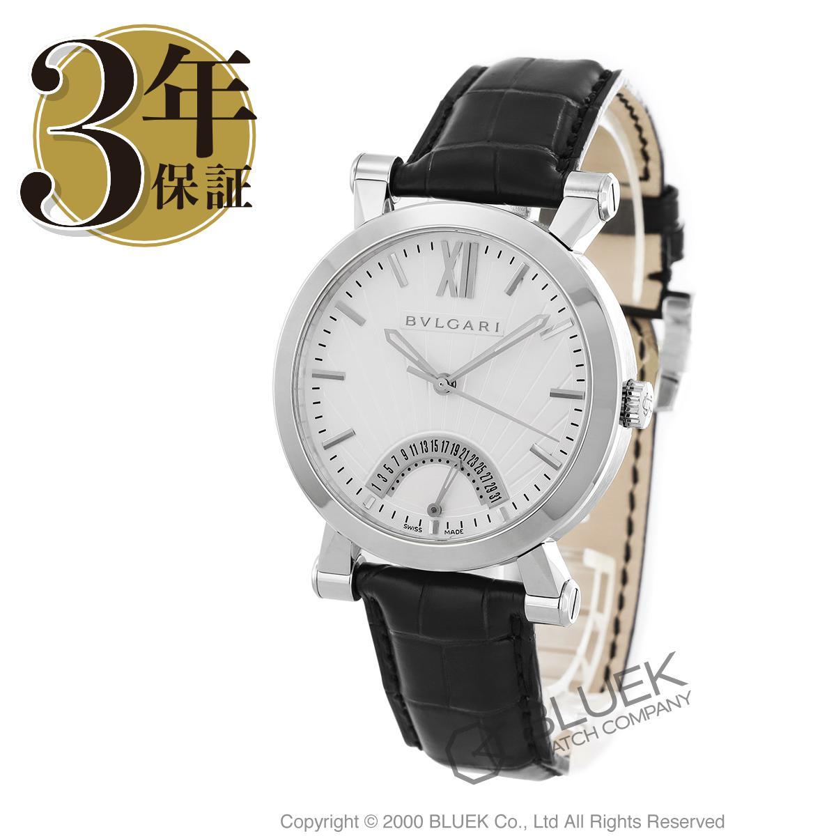 ブルガリ ソティリオ ブルガリ アリゲーターレザー 腕時計 メンズ BVLGARI SB42WSLDR_3