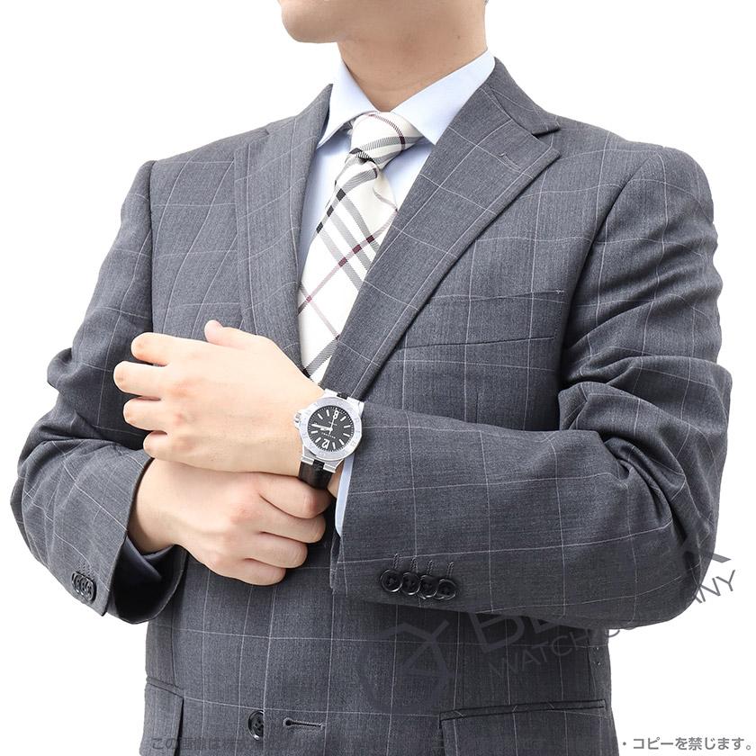 ブルガリ ディアゴノ アリゲーターレザー 腕時計 メンズ BVLGARI DG40BSLD_8