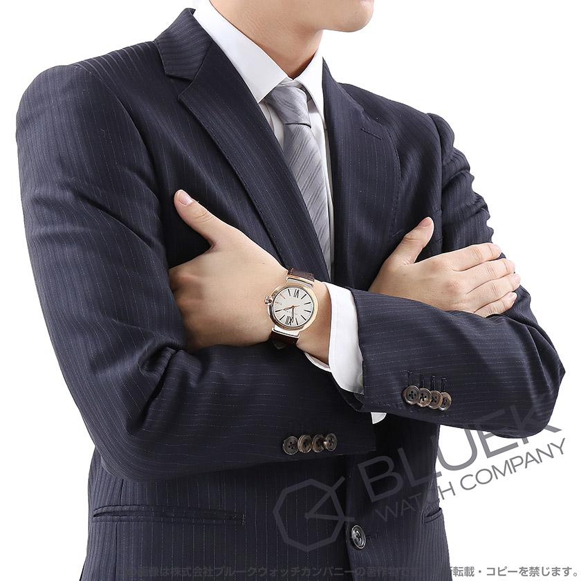 ブルガリ ルチェア アリゲーターレザー 腕時計 メンズ BVLGARI LU40C6SPGLD_8
