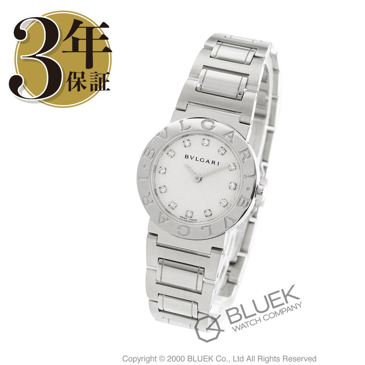 【6,000円OFFクーポン対象】ブルガリ ブルガリブルガリ ダイヤ 腕時計 レディース BVLGARI BB26WSS/12_8