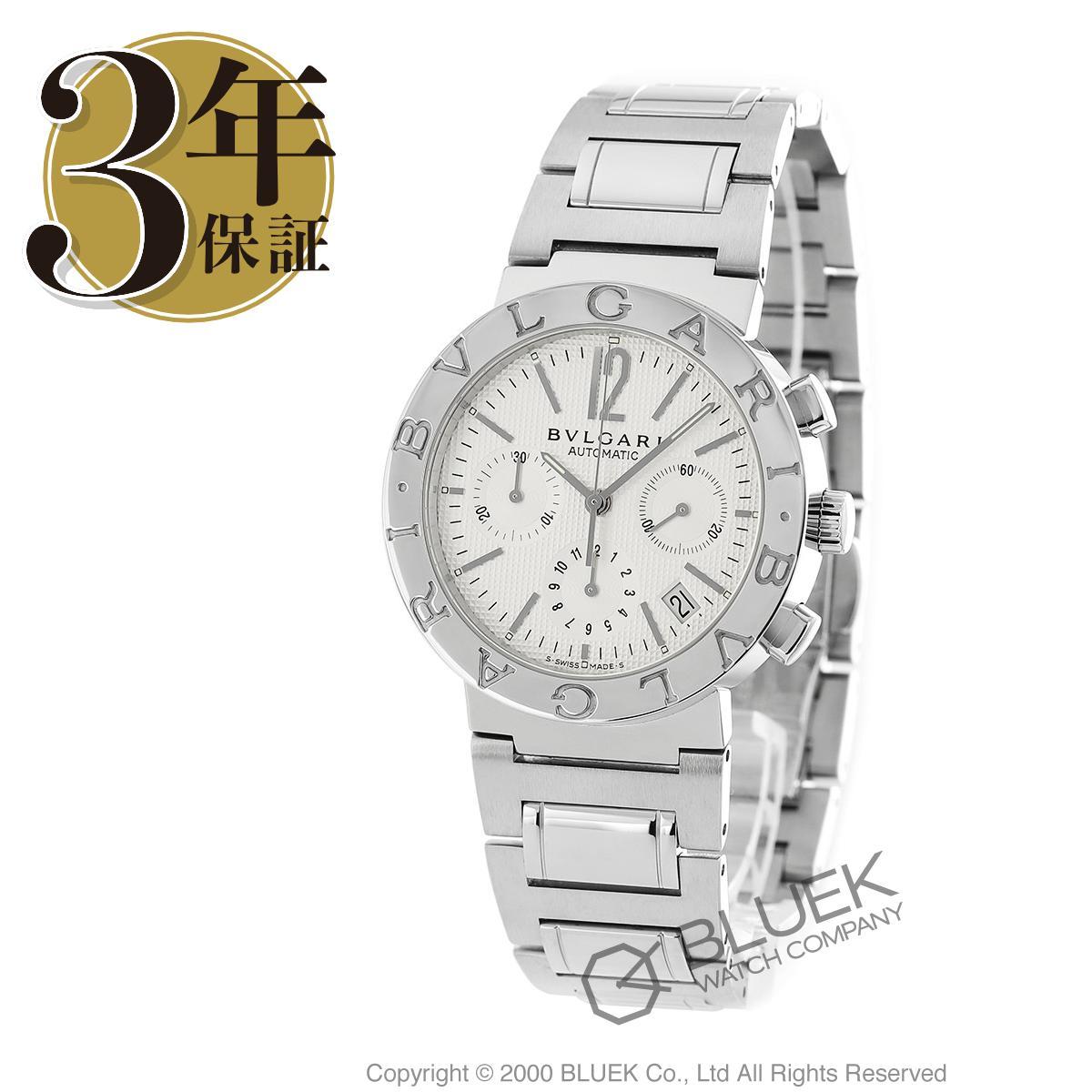 【15,000円OFFクーポン対象】ブルガリ ブルガリブルガリ クロノグラフ 腕時計 メンズ BVLGARI BB38WSSDCH_8