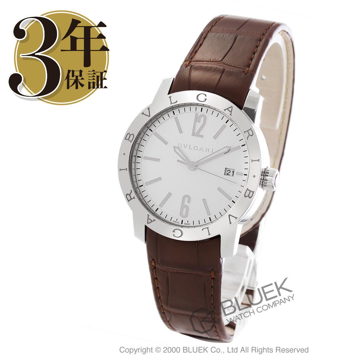 ブルガリ ブルガリブルガリ アリゲーターレザー 腕時計 メンズ BVLGARI BB39WSLD_3