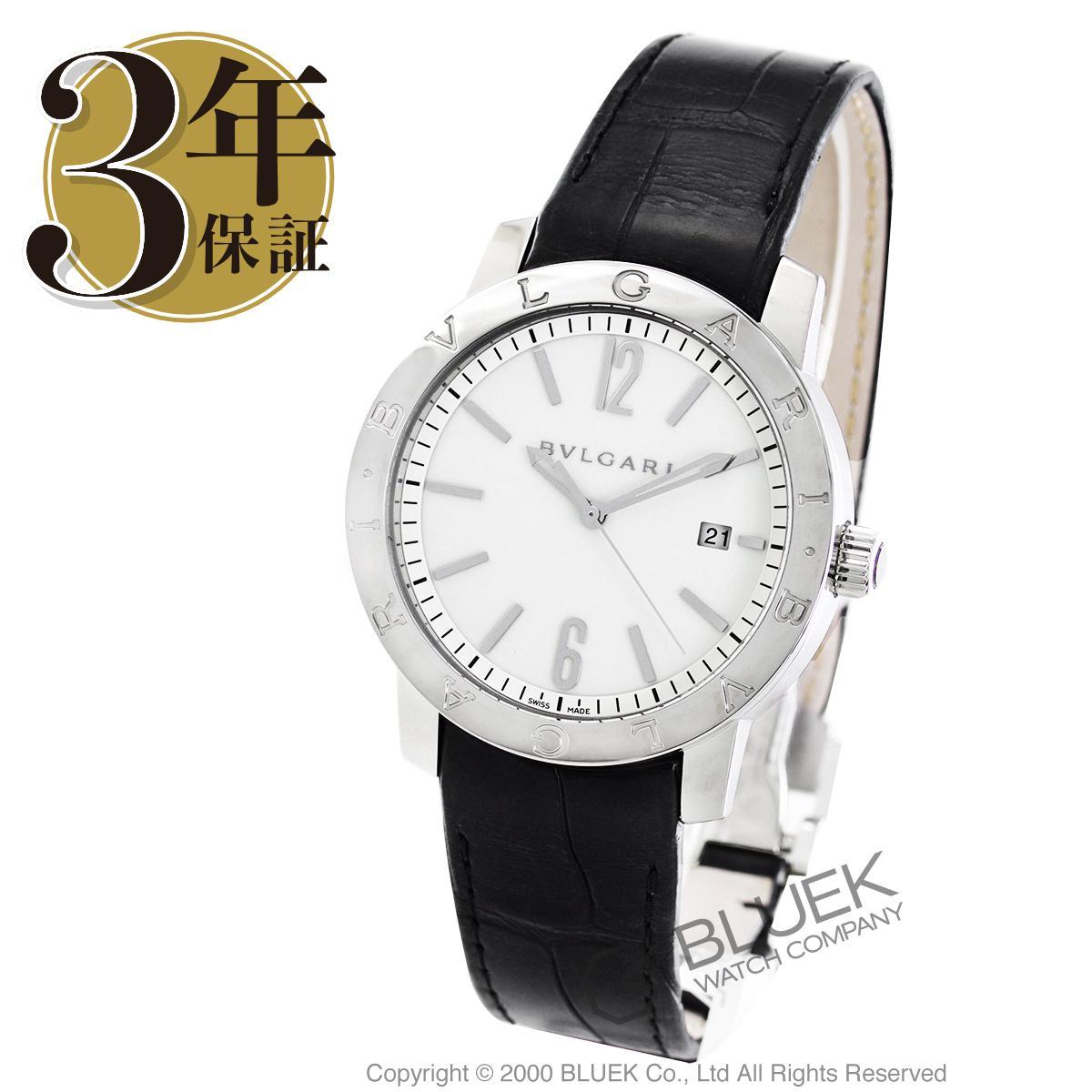【6,000円OFFクーポン対象】ブルガリ ブルガリブルガリ アリゲーターレザー 腕時計 メンズ BVLGARI BB41WSLD_8