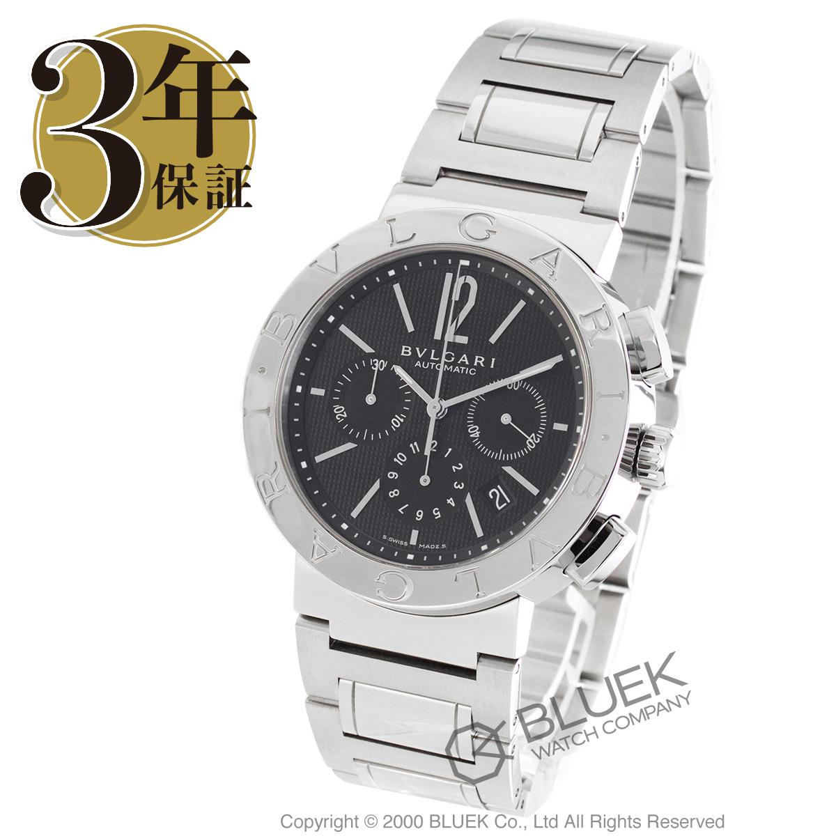 【15,000円OFFクーポン対象】ブルガリ ブルガリブルガリ クロノグラフ 腕時計 メンズ BVLGARI BB42BSSDCH_8