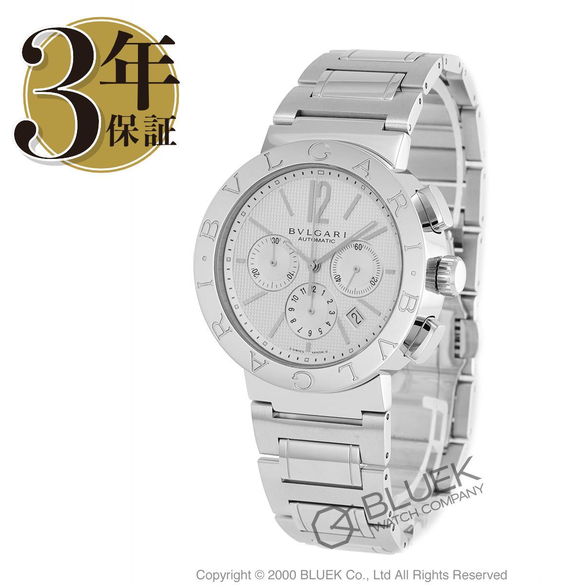 【15,000円OFFクーポン対象】ブルガリ ブルガリブルガリ クロノグラフ 腕時計 メンズ BVLGARI BB42WSSDCH/N AUTO_8