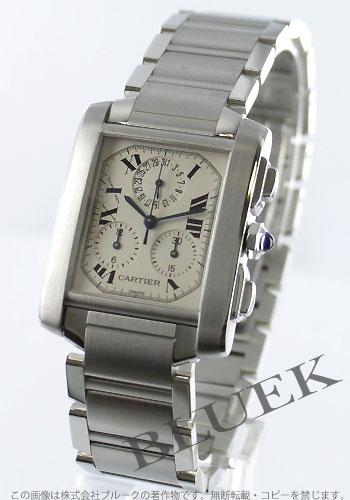 Cartier Cartier タンクフランセーズメンズ W51001Q3 watch clock