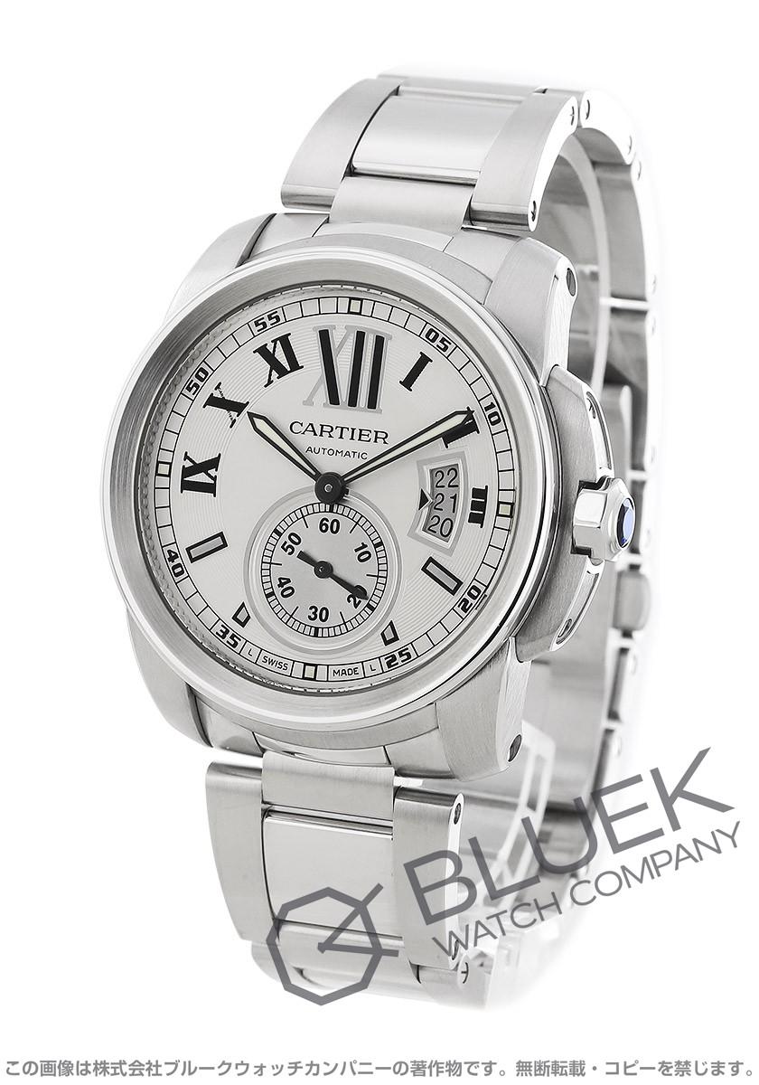 Cartier カリブル de Cartier automatic seconds silver mens W7100015