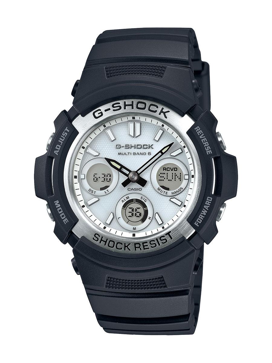 【1,000円OFFクーポン対象】カシオ G-SHOCK クロノグラフ 腕時計 メンズ CASIO AWG-M100S-7AJF