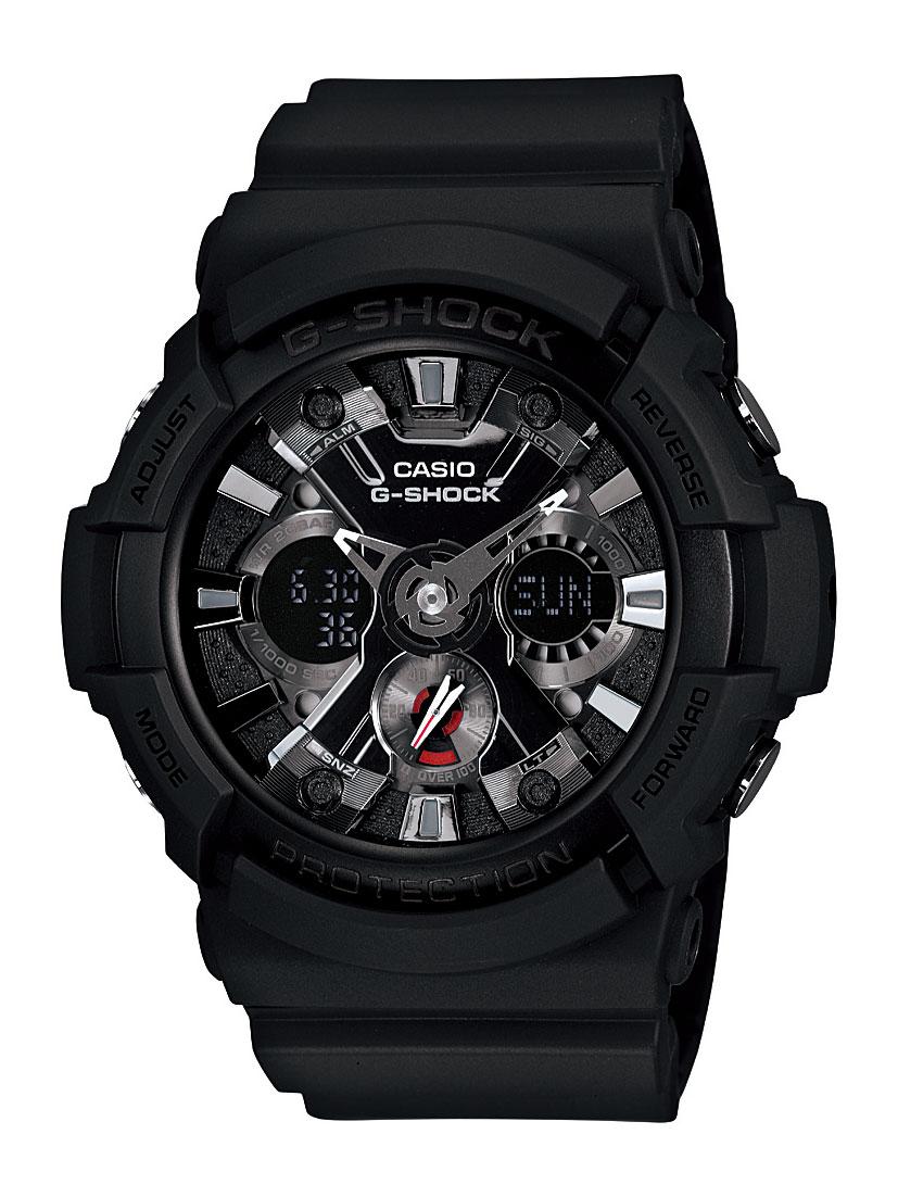カシオ G-SHOCK クロノグラフ 腕時計 メンズ CASIO GA-201-1AJF