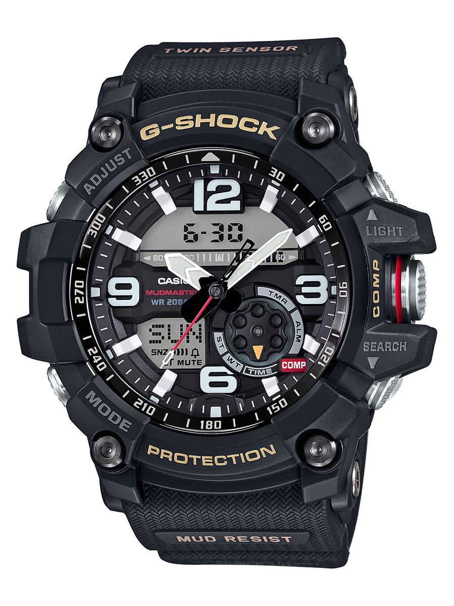 カシオ G-SHOCK マスターオブG マッドマスター ツインセンサー クロノグラフ 腕時計 メンズ CASIO GG-1000-1AJF