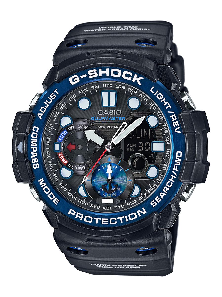【1,000円OFFクーポン対象】カシオ G-SHOCK マスターオブG ガルフマスター クロノグラフ 腕時計 メンズ CASIO GN-1000B-1AJF