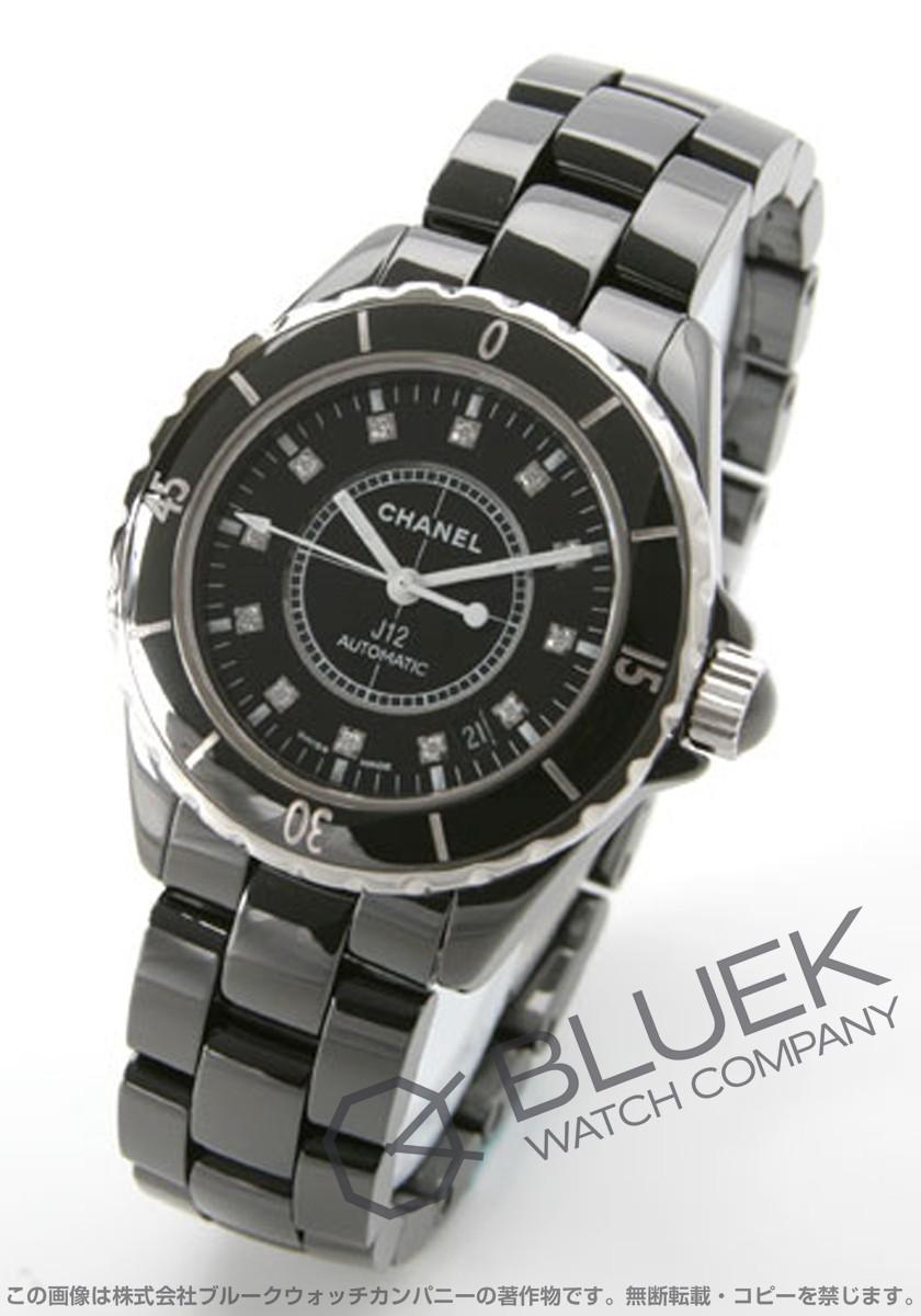 【15,000円OFFクーポン対象】シャネル J12 ダイヤ 腕時計 メンズ CHANEL H1626