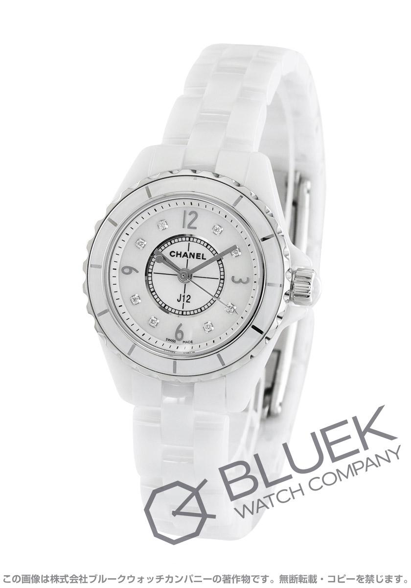 【最大3万円割引クーポン 11/01~】シャネル J12 ダイヤ 腕時計 レディース CHANEL H2570